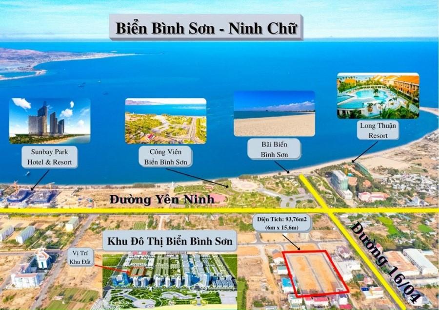 Đất biển Phan Rang chỉ 2 tỷ 7 94m2 ngay trug tâm thành phố