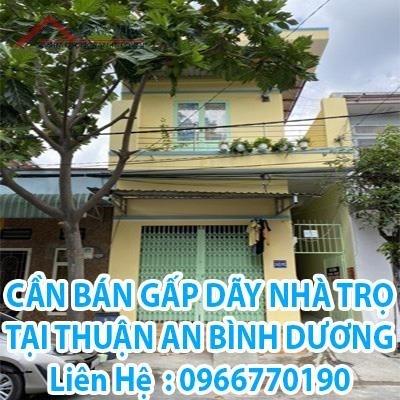 Bán gấp dãy nhà trọ tại Thuận An, Bình Dương, 4,05 tỷ, 0966770190