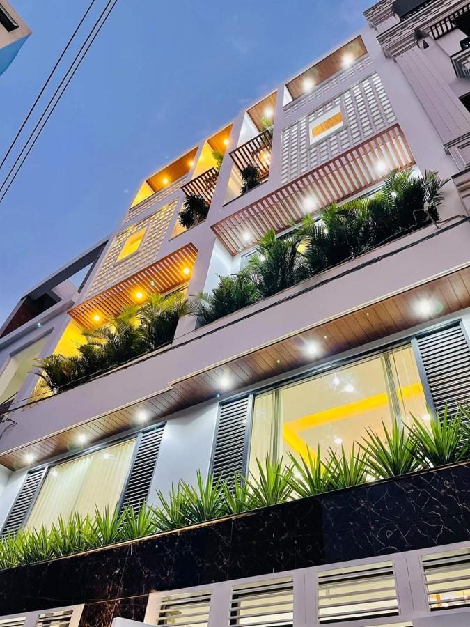 Nhà Mới Đẹp 4 Tầng BTCT Ngang 6m, HXH Bà Hạt thông Lý Thái Tổ Quận 10