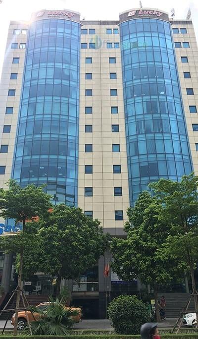 Bán Tòa nhà văn phòng ngõ 84 Trần Thái Tông.DT 184 m2.GIÁ 68 tỷ