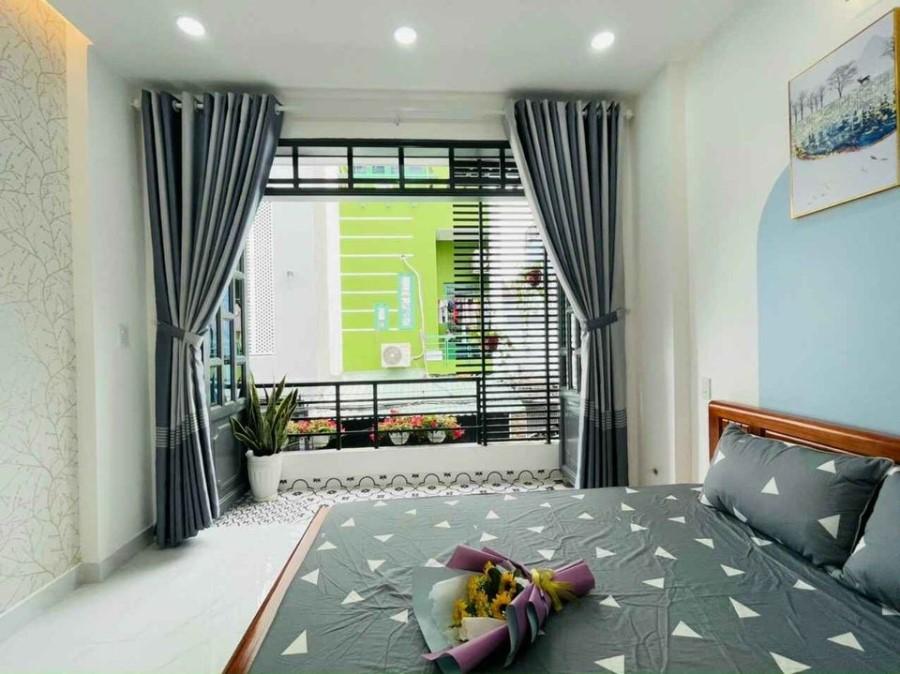 Biệt thự mini 4 tầng Lô góc HXH Quận 10, Nhà đẹp nội thất ngoại