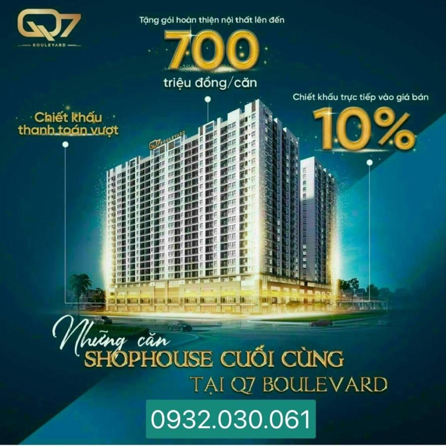 Chiết khấu 10% + tặng gói nội thất tới 700tr khi mua Q7 Boulevard 0932030061