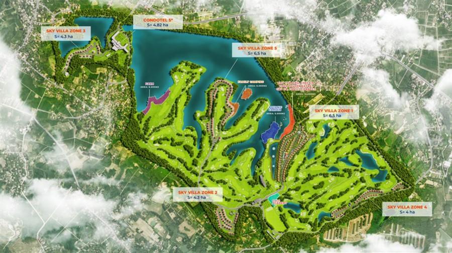 Wyndham Sky Lake Resort & Villas, Biệt thự nghỉ dưỡng trong thú chơi thượng lưu