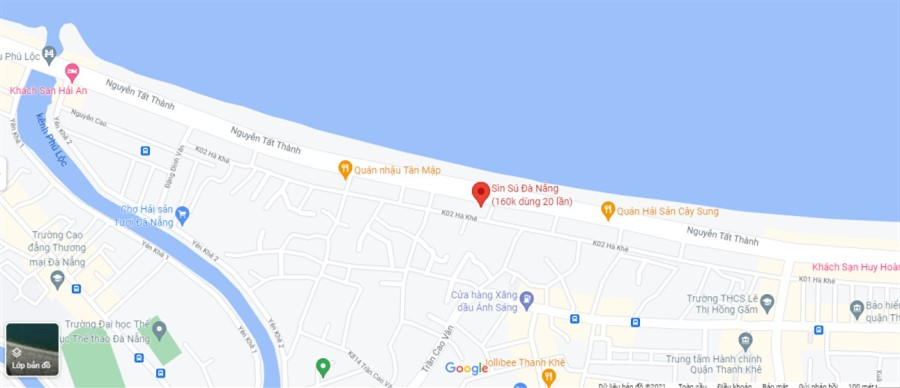 Bán đất mặt tiền đường Nguyễn Tất Thành, Thanh Khê, Đà Nẵng DT: 250m2 (10x25)m