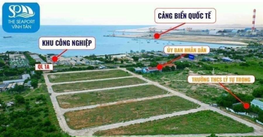 Đất nền KCN ven biển Bình Thuận 1 tỷ