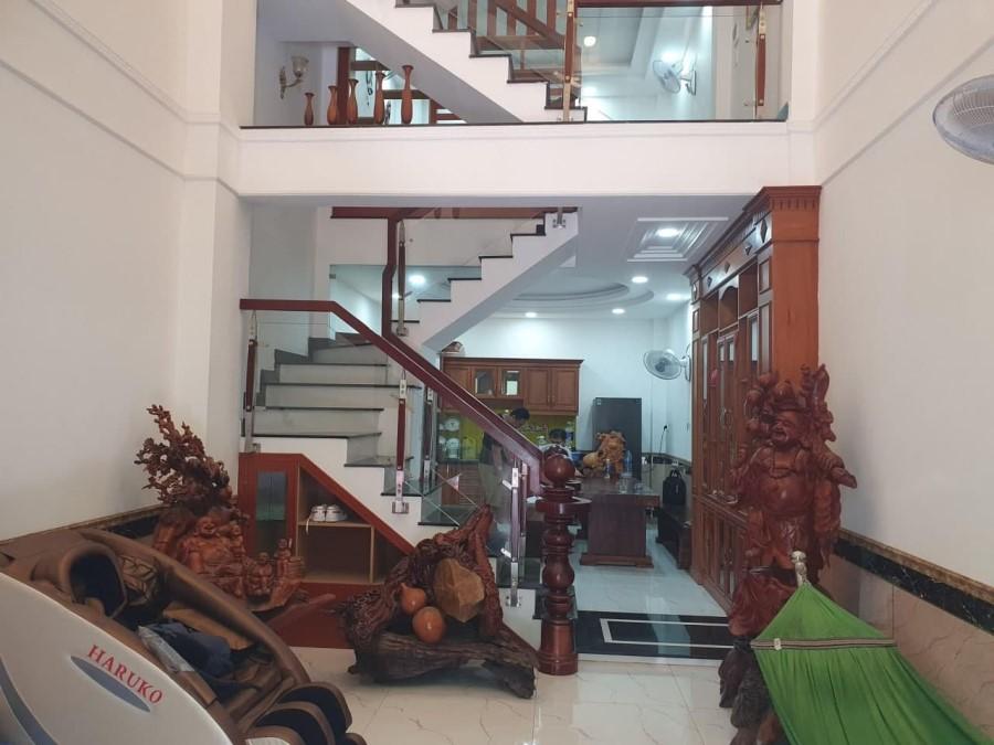 Bán nhà hẻm 6m Trân Văn Ơn, Tân Phú, DT 61m2, 4 tầng BTCT, giá chỉ 6.2 tỷ