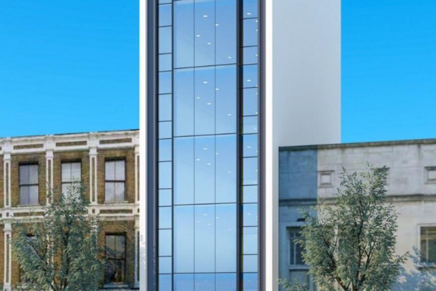 Cho thuê toà nhà Văn Phòng 9 tầng mặt phố Hoàng Ngân.DT 240m2.GIÁ 15000usd