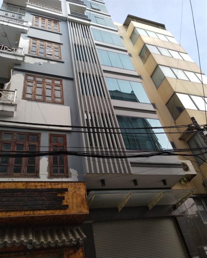 Bán nhà phân lô mặt phố Kim Quan Thượng, Long Biên 80m x 6T thang máy view công viên, KD