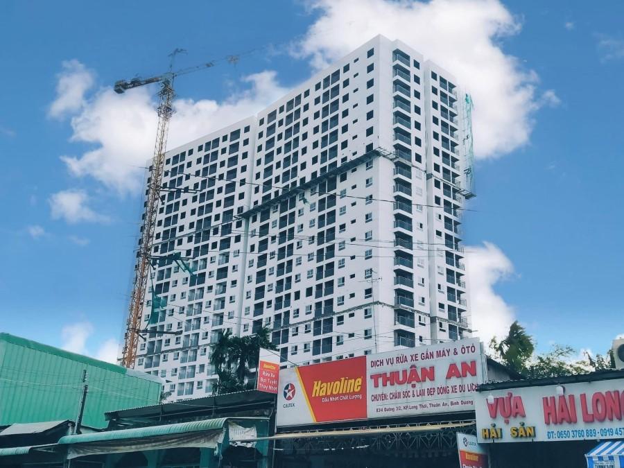 Căn hộ 48m2 thiết kế 1PN +, ban công view sông Sài Gòn. Thanh toán 400 triệu nhận nhà.