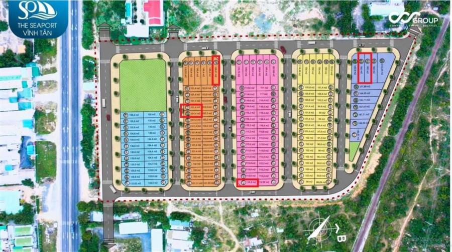 Siêu phẩm đất nền cạnh cảng biển quốc tế - The Seaport - Vĩnh Tân, Bình Thuận.