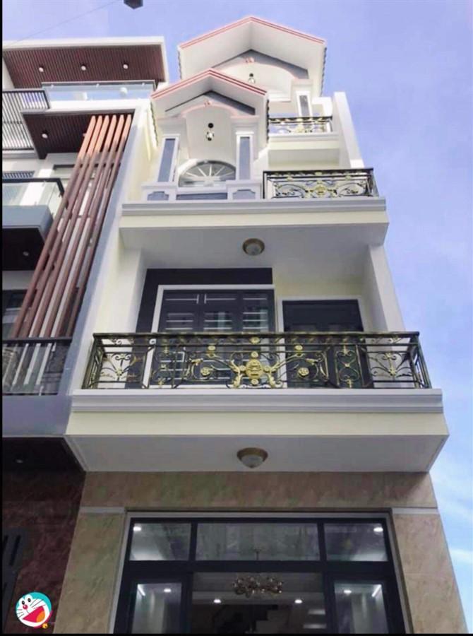 Bán nhà Tô Hiệu,Tân Phú,DT 80m2,4 tầng BTCT,hẻm 10m,giá chỉ 9.tỷ