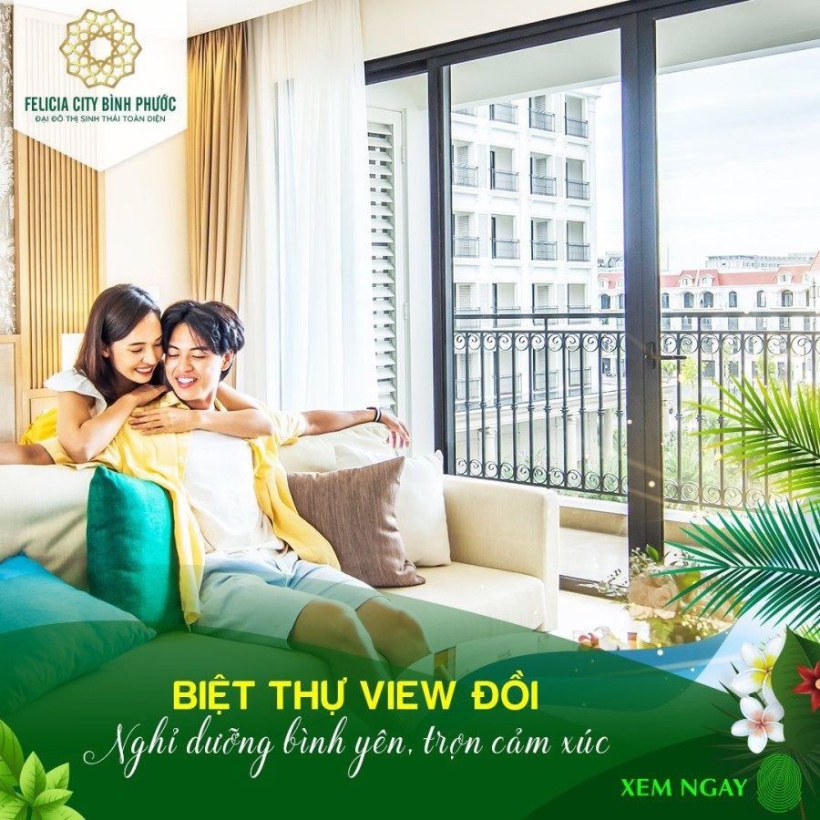 Đại Đô Thị Sinh Thái Toàn Diện Felicia CiTY Bình Phước