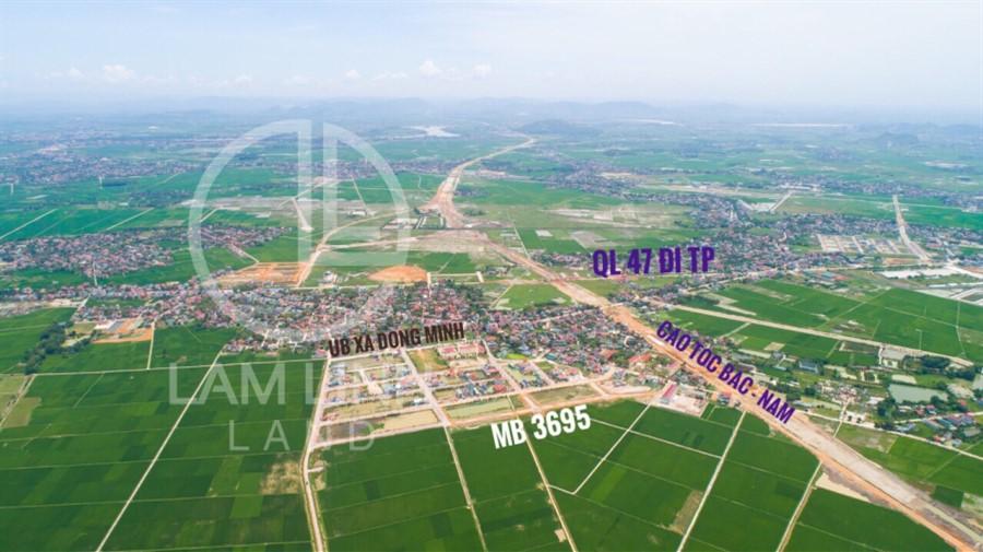 GĐ cần bán gấp lô đất nền 127.8m2 (6 x 21,3) ngay sau UB xã Đông Minh, Đông Sơn, Thanh Hóa