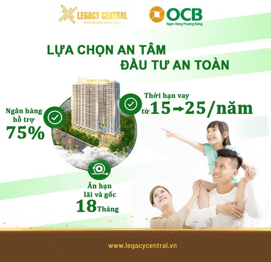 Legacy Central giá rẻ nhất Thuận An đầy đủ tiện nghi dọn đồ ở ngay LH:0966113779