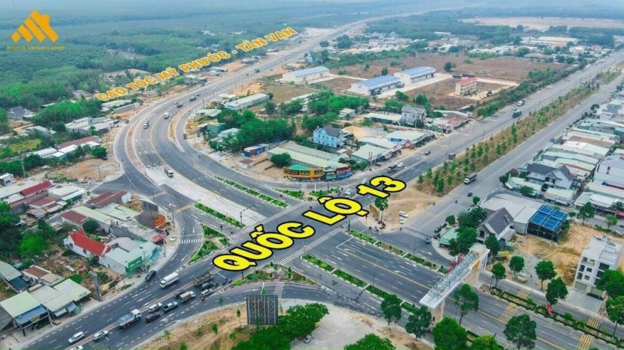 Chủ bán gấp lô đất hơn 1000m2 mặt tiền QH 32m, cạnh QL13 sát KCN Bàu Bàng giá 1tỷ5xx