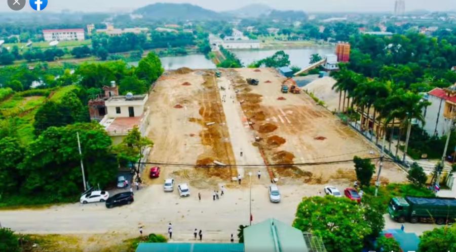 Bán đất nền biệt thự, 156m2, Lãi lớn, Vị trí Kim Cương Hòa Lạc, Quốc Oai, 3,82 tỷ