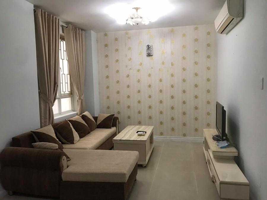 Cần Cho thuê căn hộ Sinh Lợi H:Bình Chánh, Dt : 81 m2, 2PN, Có Đầy Đủ Nội Thất, Giá : 7.5 tr/th,